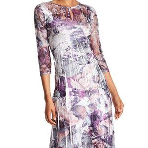 Komarov Women's Floral-Print Sheath Dress
